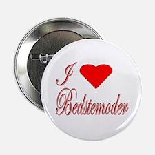 I Love Bedstemoder Button