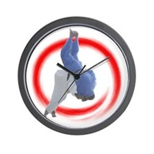 Ippon Throw Wall Clock