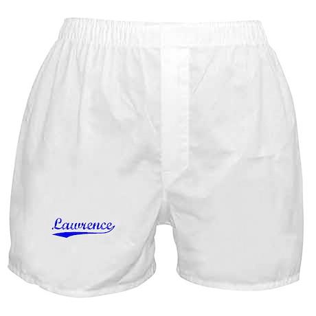 Vintage Lawrence (Blue) Boxer Shorts