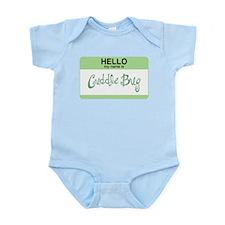 Cuddle Bug Infant Creeper (green)