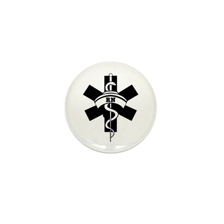 RN Nurses Medical Mini Button