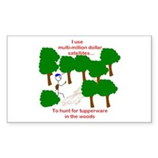 Geocaching Rectangle Decal