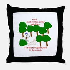 Geocaching Throw Pillow
