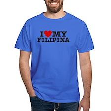 I Love My Filipina T-Shirt