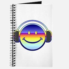 Smiley Headphones Journal