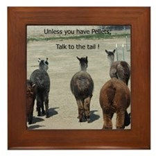KSC Alpaca Talk to the Tail Framed Tile