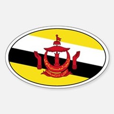 Brunei Decals Oval Decal