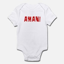 Amani Faded (Red) Onesie