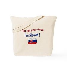 Slovak Dupa 3 Tote Bag