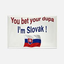 Slovak Dupa 3 Rectangle Magnet