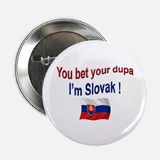 "Slovak Dupa 3 2.25"" Button"