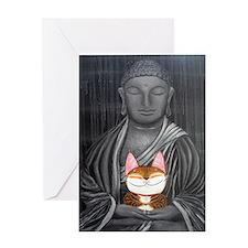 Cat Art ~ Cat Sutra II Greeting Card