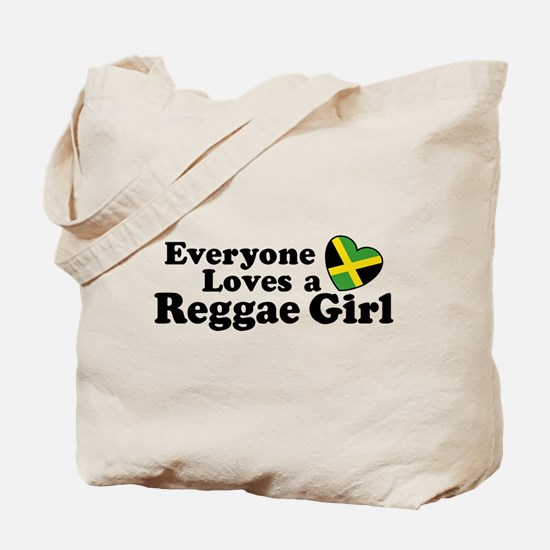Everyone Loves a Reggae Girl Tote Bag