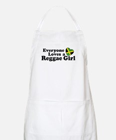 Everyone Loves a Reggae Girl BBQ Apron