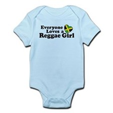 Everyone Loves a Reggae Girl Infant Bodysuit
