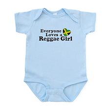 Everyone Loves a Reggae Girl Onesie