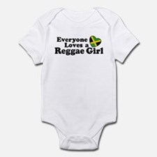 Everyone Loves a Reggae Girl Onesie