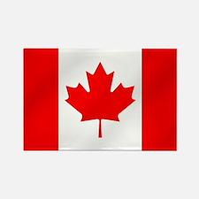 Canadian Flag Rectangle Magnet
