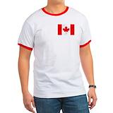 Canadian logo Ringer T