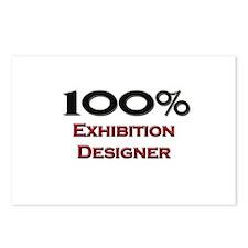 100 Percent Exhibition Designer Postcards (Package