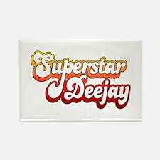 SuperStar DeeJay Rectangle Magnet