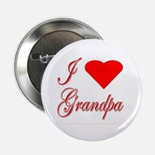 I Love Grandpa-Heart Button