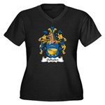 Oelhafen Family Crest Women's Plus Size V-Neck Dar