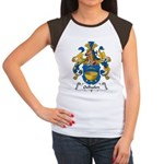 Oelhafen Family Crest Women's Cap Sleeve T-Shirt