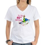 Happy 30th birthday Womens V-Neck T-shirts