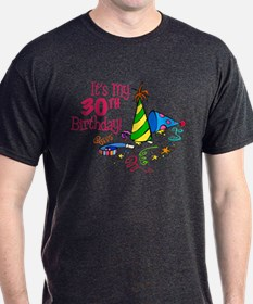 It's My 30th Birthday (Party Hats) T-Shirt