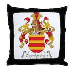 Odenkirchen Family Crest Throw Pillow
