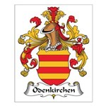 Odenkirchen Family Crest Small Poster