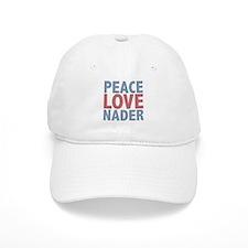 Peace Love Ralph Nader Baseball Cap