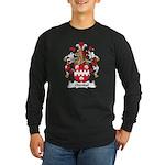 Odendal Family Crest Long Sleeve Dark T-Shirt