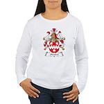 Odendal Family Crest Women's Long Sleeve T-Shirt
