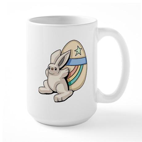 Super Easter Bunny Large Mug