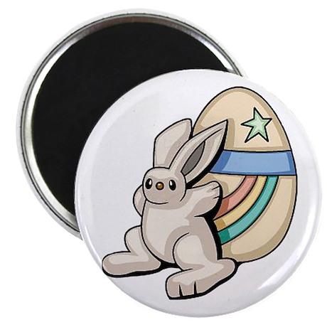 """Super Easter Bunny 2.25"""" Magnet (10 pack)"""