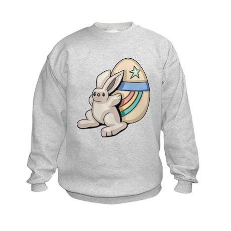 Super Easter Bunny Kids Sweatshirt