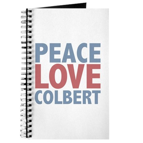 Peace Love Stephen Colbert Journal