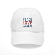 Peace Love Stephen Colbert Baseball Cap
