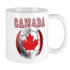 Canadian Soccer Ball Mug