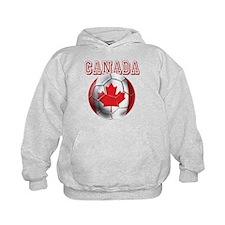 Canadian Soccer Ball Hoodie