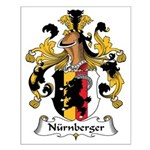 Nurnberger Family Crest Small Poster