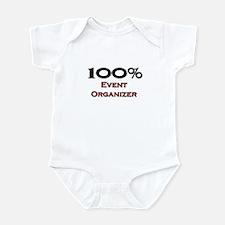 100 Percent Event Organizer Infant Bodysuit