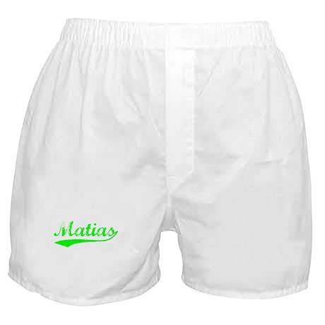 Vintage Matias (Green) Boxer Shorts