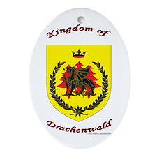 Drachenwald Oval Ornament