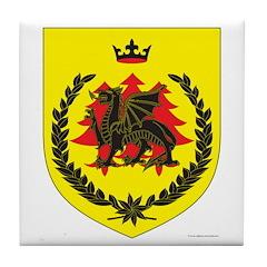 King of Drachenwald Tile Coaster