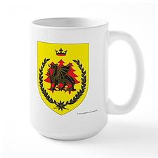 King of Drachenwald Large Mug