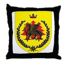 King of Drachenwald Throne Pillow