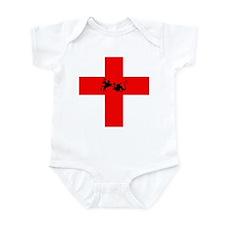 St George v The Dragon Infant Bodysuit